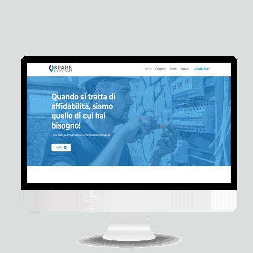 sito semplice demo